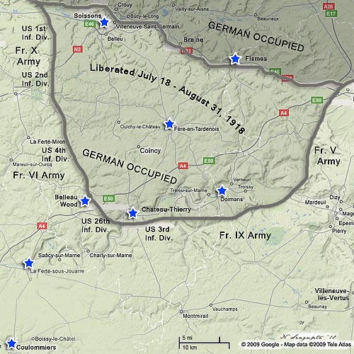 map of cau thierry sector