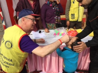 Smyrna Rotarian Fights Polio in India