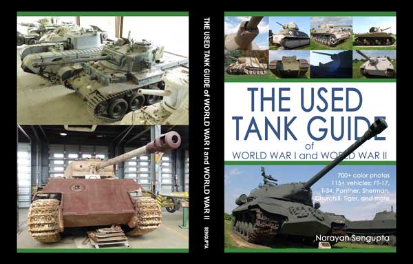 The Used Tank Guide of World War I and World War II - book cover