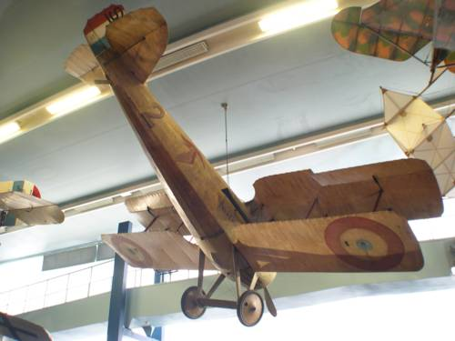 Spad VII airplane